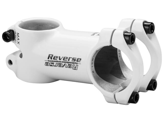 Reverse XC ohjainkannatin Ø31,8mm 6° , valkoinen